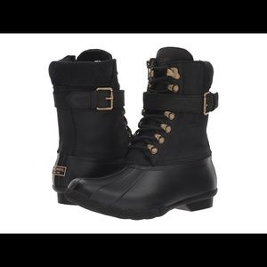 SPERRY Black Shearwater boots